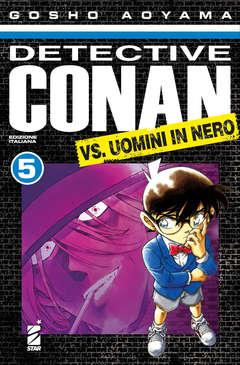 Copertina DETECTIVE CONAN VS.UOMINI IN N n.5 - DETECTIVE CONAN VS.UOMINI    5, STAR COMICS