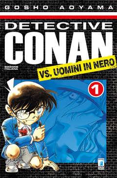 Copertina DETECTIVE CONAN VS. UOMINI IN NERO m2 n.1 - DETECTIVE CONAN VS UOMINI IN NERO, STAR COMICS