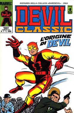 Copertina DEVIL CLASSIC n.1 - DEVIL CLASSIC                1, STAR COMICS