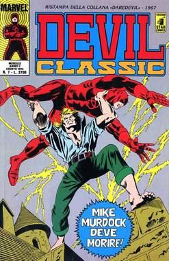 Copertina DEVIL CLASSIC n.7 - DEVIL CLASSIC                7, STAR COMICS