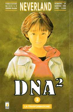 Copertina DNA2 n.3 - DNA2 3, STAR COMICS