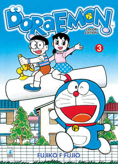 Copertina DORAEMON COLOR EDITION (m6) n.3 - DORAEMON COLOR EDITION (m6), STAR COMICS