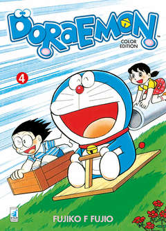 Copertina DORAEMON COLOR EDITION (m6) n.4 - DORAEMON COLOR EDITION, STAR COMICS