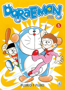 Copertina DORAEMON COLOR EDITION (m6) n.5 - DORAEMON COLOR EDITION, STAR COMICS