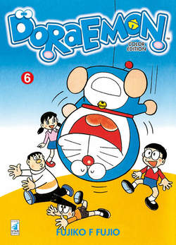 Copertina DORAEMON COLOR EDITION (m6) n.6 - DORAEMON COLOR EDITION, STAR COMICS