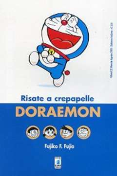 Copertina DORAEMON n.5 - RISATE A CREPAPELLE, STAR COMICS