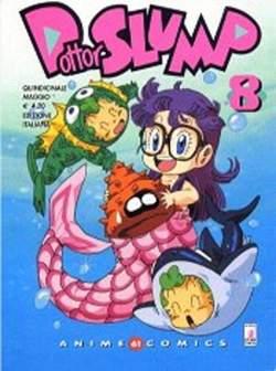 Copertina DOTTOR SLUMP ANIME n.8 - DOTTOR SLUMP & ARALE 8, STAR COMICS
