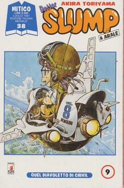 Copertina DOTTOR SLUMP n.9 - DOTTOR SLUMP 9, STAR COMICS