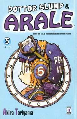 Copertina DR. SLUMP & ARALE RISTAMPA n.5 - DR. SLUMP & ARALE RISTAMPA 5, STAR COMICS