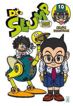 Copertina DR. SLUMP Perfect Edition n.10 - DR. SLUMP Perfect Edition (m15), STAR COMICS