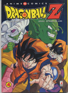 Copertina DRAGON BALL Z ANIME n.4 - DRAGON BALL Z 4, STAR COMICS