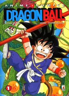 Copertina DRAGON BALL ANIME n.1 - DRAGON BALL 1, STAR COMICS