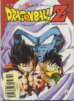 Copertina DRAGON BALL Z ANIME n.1 - DRAGON BALL Z 1, STAR COMICS