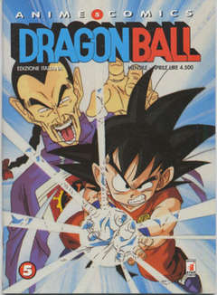 Copertina DRAGON BALL ANIME n.5 - DRAGON BALL 5, STAR COMICS