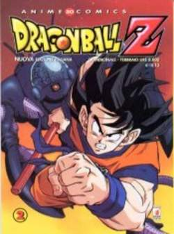 Copertina DRAGON BALL Z ANIME n.2 - DRAGON BALL Z 2 RISTAMPA, STAR COMICS