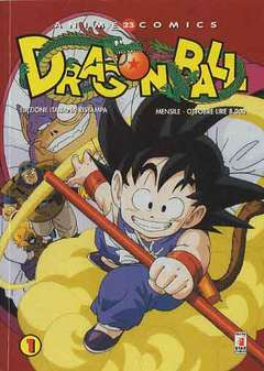 Copertina DRAGON BALL ANIME RISTAMPA n.1 e 2 - RISTAMPA 1 (1 E 2) DRAGON BALL, STAR COMICS