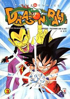Copertina DRAGON BALL ANIME RISTAMPA n.5 e 6 - RISTAMPA 3 (5 E 6) DRAGON BALL, STAR COMICS