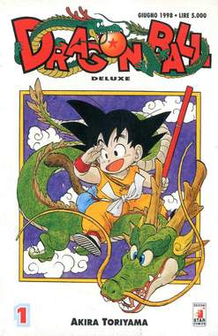 Copertina DRAGON BALL DE LUXE n.69 - SERIE COMPLETA, DRAGON BALL DE LUXE 1/42, STAR COMICS