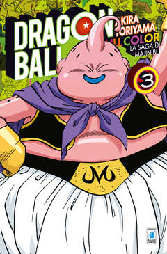 Copertina DRAGON BALL FULL COLOR n.29 - LA SAGA DI MAJIN BU 3 (m6), STAR COMICS