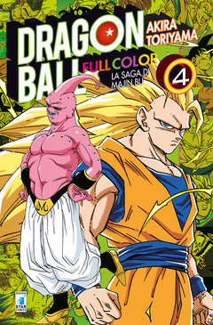 Copertina DRAGON BALL FULL COLOR n.30 - LA SAGA DI MAJIN BU 4 (m6), STAR COMICS