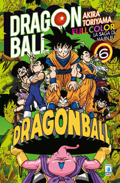 Copertina DRAGON BALL FULL COLOR n.32 - LA SAGA DI MAJIN BU 6 (m6), STAR COMICS