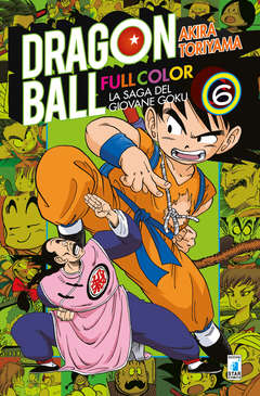 Copertina DRAGON BALL FULL COLOR n.6 - LA SAGA DEL GIOVANE GOKU 6 (m8), STAR COMICS