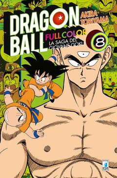 Copertina DRAGON BALL FULL COLOR n.8 - LA SAGA DEL GIOVANE GOKU 8 (m8), STAR COMICS