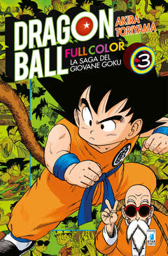 Copertina DRAGON BALL FULL COLOR (m8) n.3 - LA SAGA DEL GIOVANE GOKU 3 (m8), STAR COMICS
