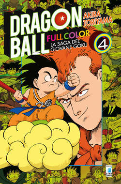 Copertina DRAGON BALL FULL COLOR (m8) n.4 - LA SAGA DEL GIOVANE GOKU 3 (m8), STAR COMICS