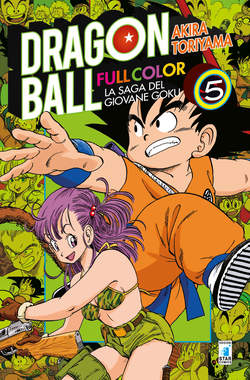 Copertina DRAGON BALL FULL COLOR (m8) n.5 - LA SAGA DEL GIOVANE GOKU, STAR COMICS