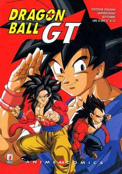 Copertina DRAGON BALL GT ANIME n.3 - DRAGON BALL GT, STAR COMICS