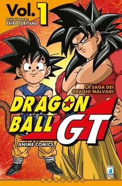 Copertina DRAGON BALL GT ANIME COMICS n.1 - LA SAGA DEI DRAGHI MALVAGI 1, STAR COMICS
