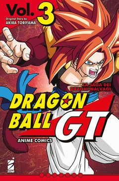 Copertina DRAGON BALL GT ANIME COMICS n.3 - LA SAGA DEI DRAGHI MALVAGI 3, STAR COMICS