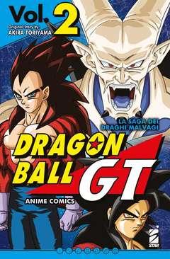 Copertina DRAGON BALL GT ANIME COMICS n.2 - SAGA DEI DRAGHI MALVAGI 2, STAR COMICS