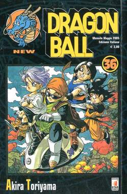 Copertina DRAGON BALL NEW n.36 - DRAGON BALL NEW 36, STAR COMICS