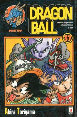 Copertina DRAGON BALL NEW n.37 - DRAGON BALL NEW 37, STAR COMICS
