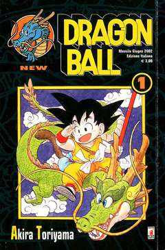 Copertina DRAGON BALL NEW n.1 - DRAGON BALL 1, STAR COMICS