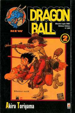 Copertina DRAGON BALL NEW n.2 - DRAGON BALL 2, STAR COMICS