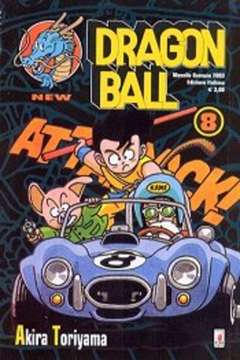 Copertina DRAGON BALL NEW n.8 - DRAGON BALL 8, STAR COMICS