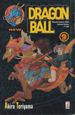 Copertina DRAGON BALL NEW n.9 - DRAGON BALL 9, STAR COMICS