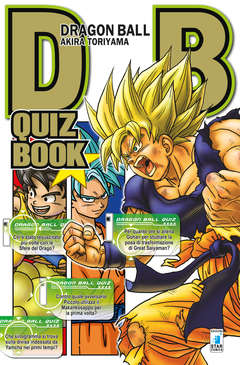 Copertina DRAGON BALL QUIZ BOOK n. - DRAGON BALL QUIZ BOOK, STAR COMICS