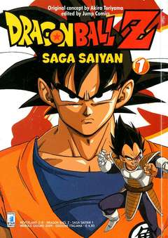Copertina DRAGON BALL Z SAGA SAIYAN n.1 - DRAGON BALL Z SAGA SAIYAN (m5), STAR COMICS