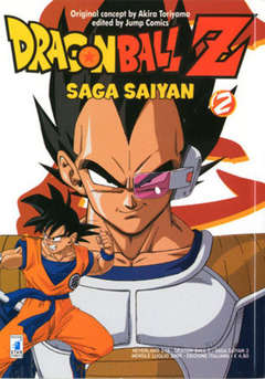 Copertina DRAGON BALL Z SAGA SAIYAN n.2 - DRAGON BALL Z SAGA SAIYAN (m5), STAR COMICS