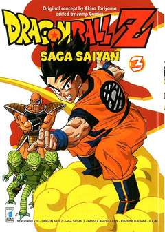 Copertina DRAGON BALL Z SAGA SAIYAN n.3 - DRAGON BALL Z SAGA SAIYAN (m5), STAR COMICS