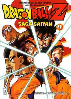 Copertina DRAGON BALL Z SAGA SAIYAN n.4 - DRAGON BALL Z SAGA SAIYAN (m5), STAR COMICS
