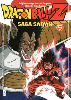 Copertina DRAGON BALL Z SAGA SAIYAN n.5 - DRAGON BALL Z SAGA SAIYAN (m5), STAR COMICS