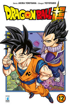 Copertina DRAGON BALL SUPER n.12 - DRAGON BALL SUPER, STAR COMICS