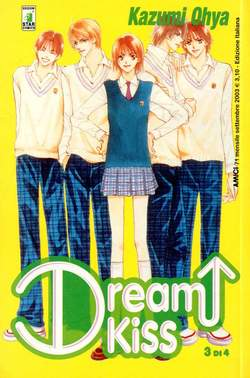 Copertina DREAM KISS n.3 - DREAM KISS 3, STAR COMICS