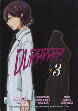 Copertina DURARARA!! n.3 - DURARARA!! 3, STAR COMICS