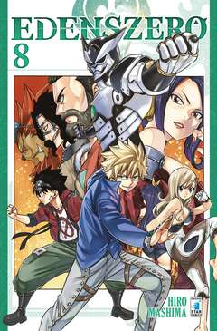 Copertina EDENS ZERO n.8 - YOUNG 320, STAR COMICS